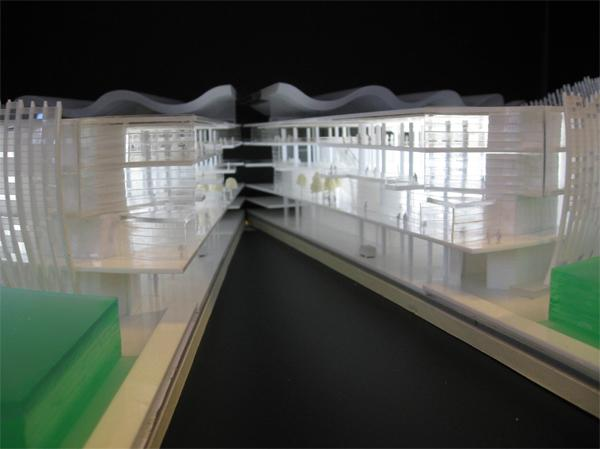department store section model.