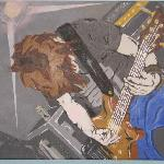 painting of the guitarist